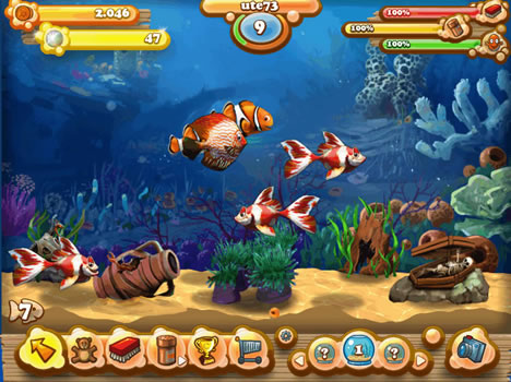 Fisch Spiele Aquarium