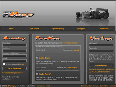 f1 manager browsergame