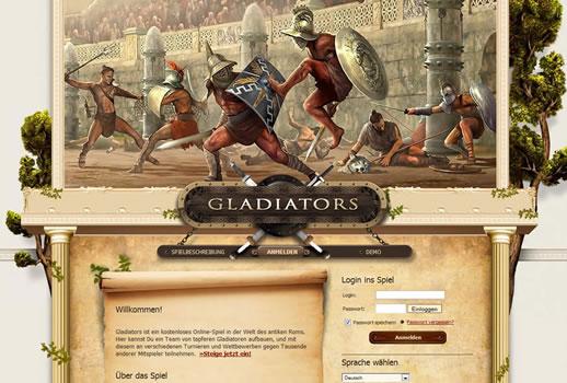 gladiator browsergame