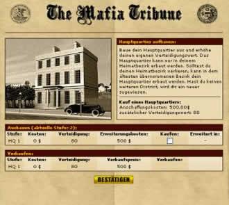 mafia 1930 browsergame