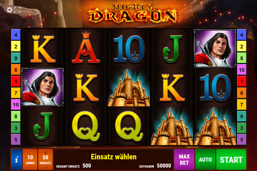 mighty dragon spielen