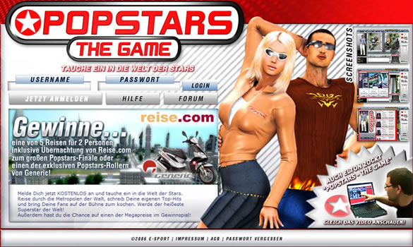 Popstars the Game
