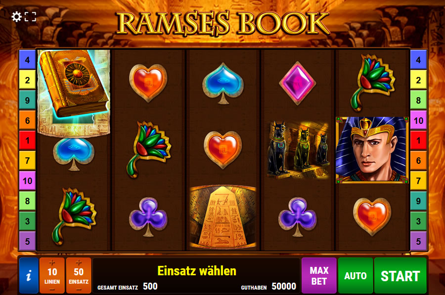 Play Ramses Book for free