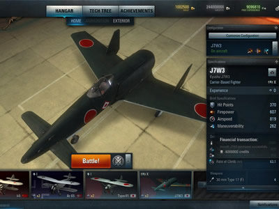 World of Warplanes Bild 3